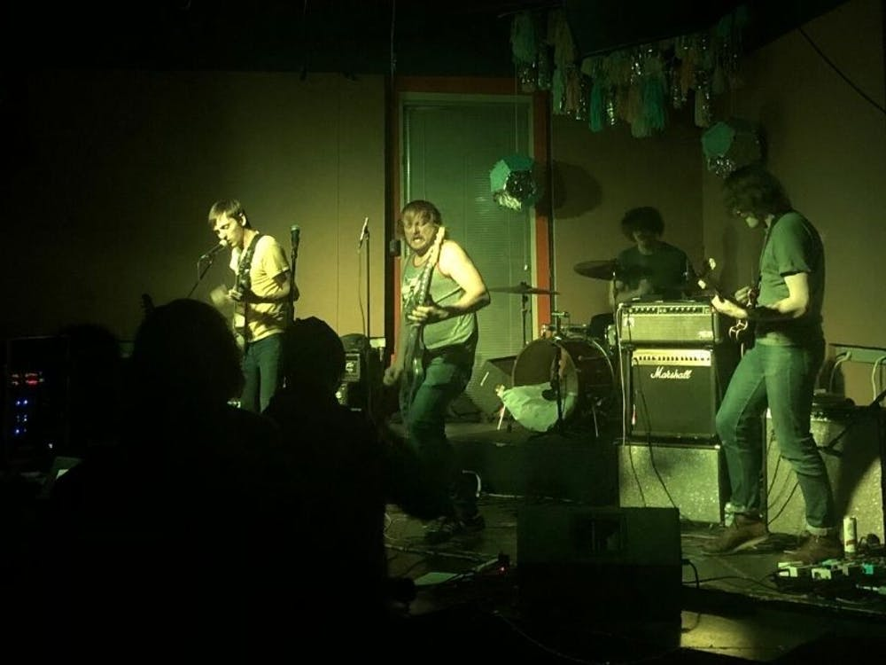 Carrboro band Personality Cult performing at Coffeehouse