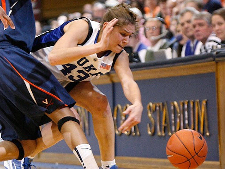 Freshman Allison Vernerey overshadowed her senior teammates with 17 points against Virginia.