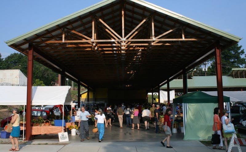 The Durham Farmers' Market is one of the many highlights of Durham's food scene.