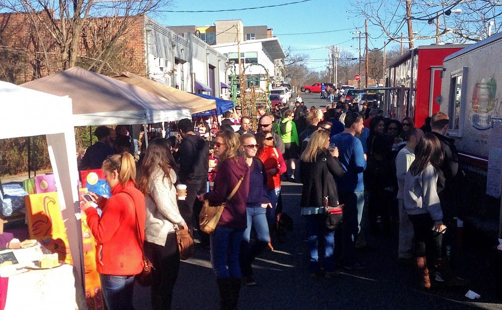 <p>Past food truck rodeos have brought crowds in cold weather and warm. Sunday's food truck rodeo was sunny and popular.</p>