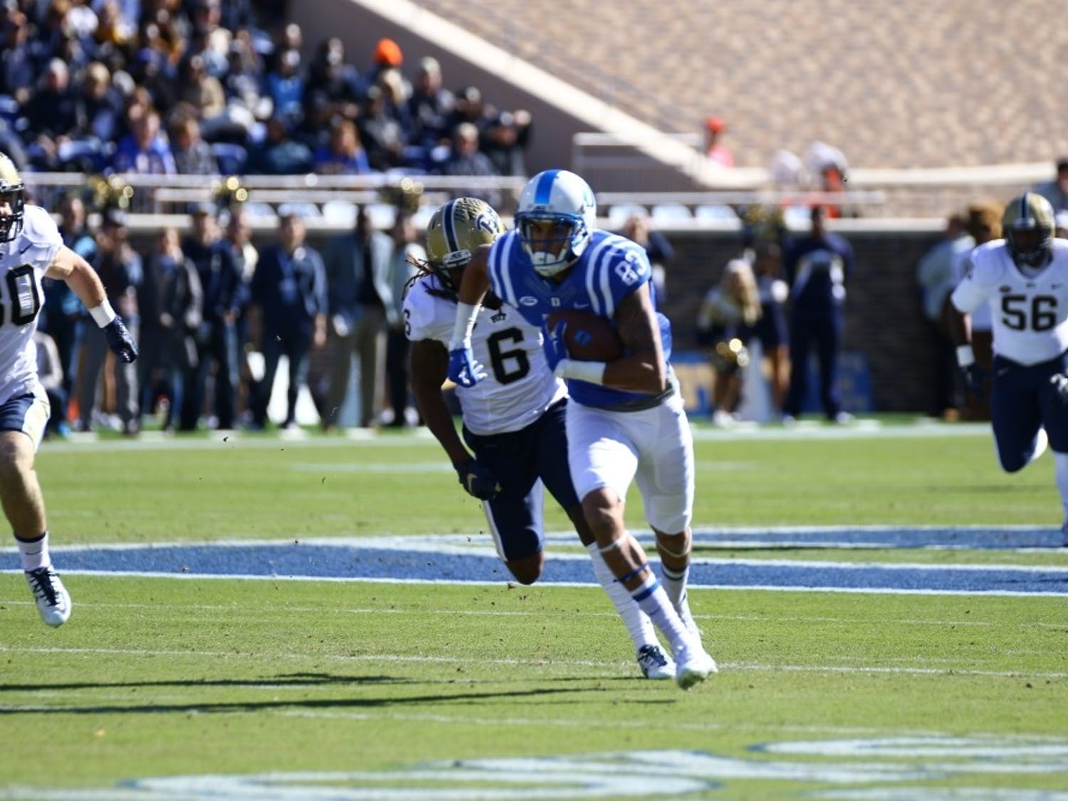 After a breakout season in 2015, redshirt senior Anthony Nash could be a reliable contributor on a young Duke receiving corps this year.