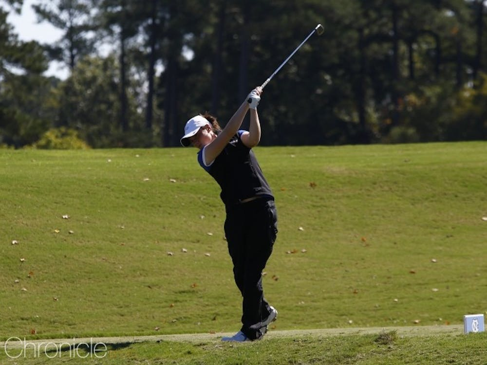 Leona Maguire carded a 63 Monday afternoon on her way to the tournament title, tied for the second-best round in program history.