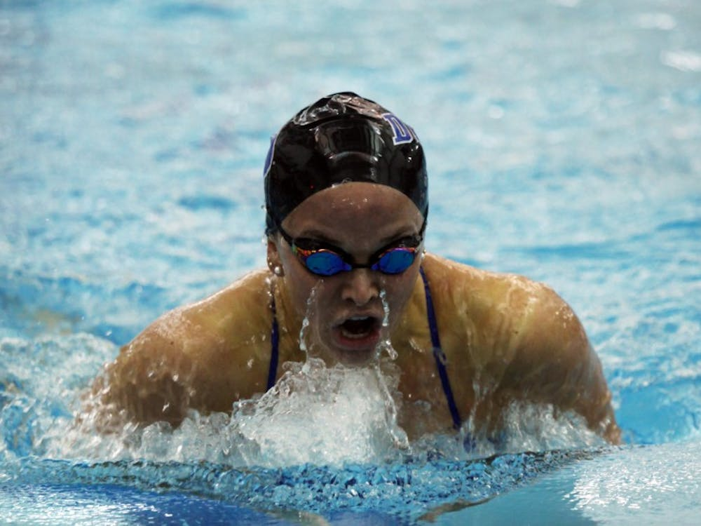 Despite strong showings in the relays, the Blue Devils fell to Virginia before rebounding with a victory against Richmond.