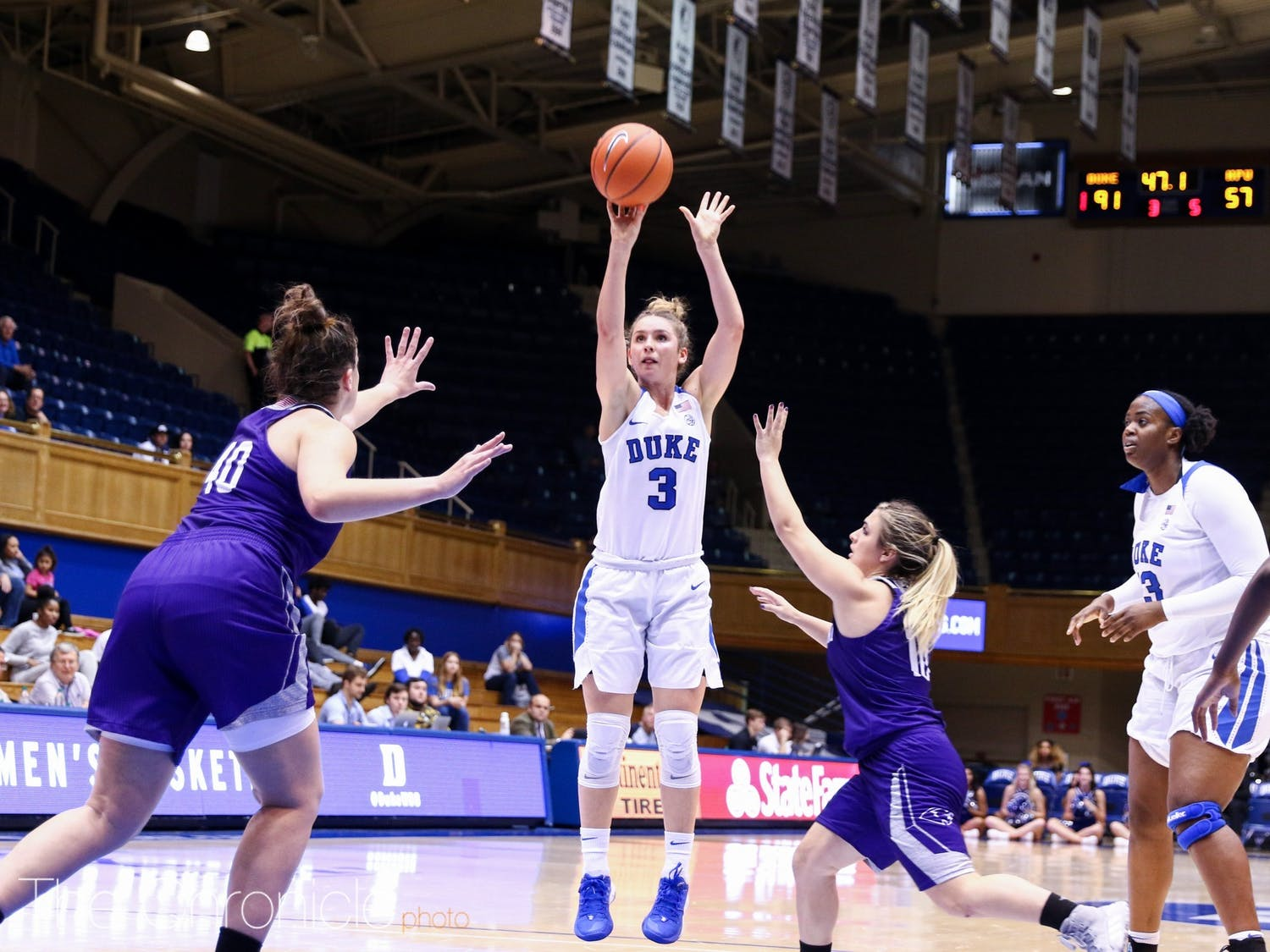 Miela Goodchild is looking to break out in her third year as a Blue Devil.