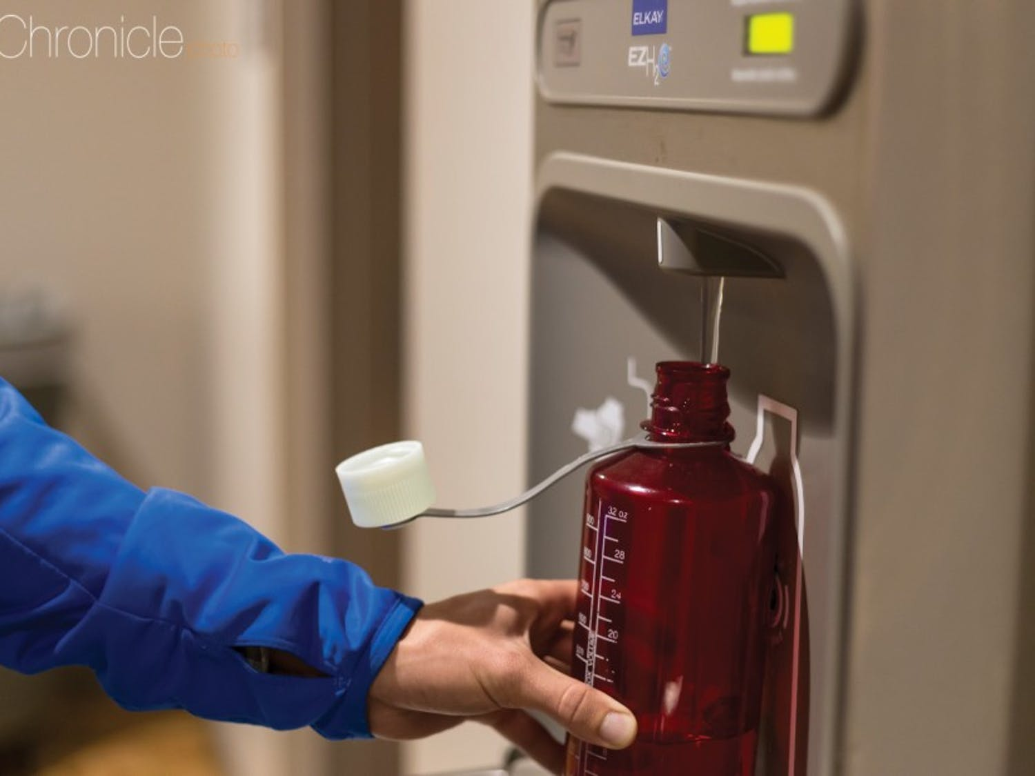 Water filling stations on campus have been installed since 2009 and  have helped Duke save a huge amount of plastic last year.