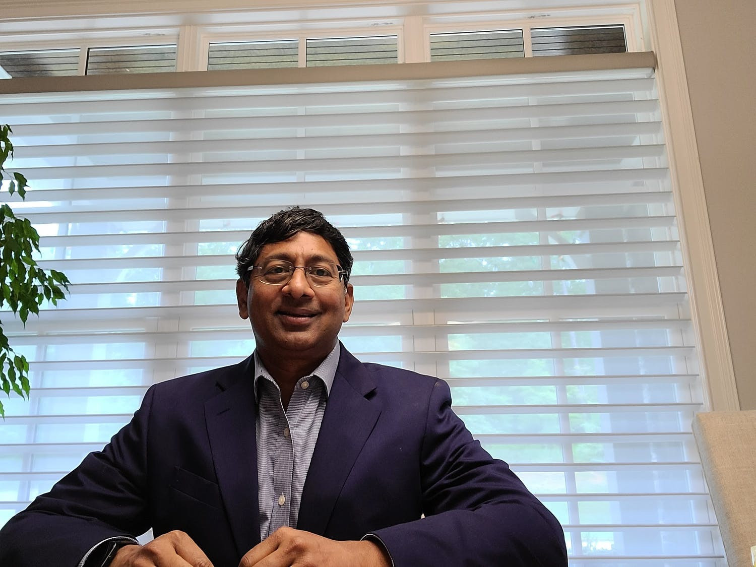 Ravi Bellamkonda is the Vinik dean of the Pratt School of Engineering. He is leaving Duke in June to become Provost and executive vice president at Emory University.