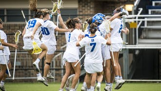 Sophia LeRose saved Maryland's final shot of the game to give Duke the 13-12 victory.