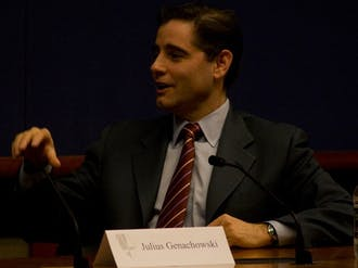 Julius Genachowski, chairman of the FCC, discussed necessary improvements in  broadband access for the U.S. to remain competitive in the 21st century.