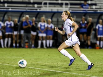 Graduate student Tess Boade scored her 16th career goal during Sunday's match against Vanderbilt.