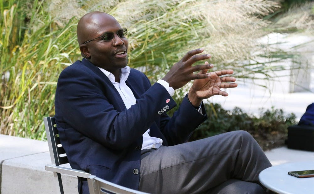 <p>Reggie Love,&nbsp;a former Duke men's basketball player and Trinity '05, previously served as&nbsp;special assistant and personal aide for President Barack Obama.</p>