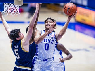 Sophomore Wendell Moore Jr. led the Blue Devils for the first 20 minutes against Georgia Tech.
