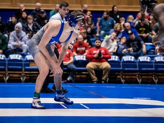 Redshirt junior Josh Finesilver is part of a long lineage of standout Duke wrestlers.