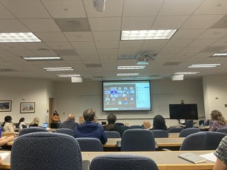 Academic Council discussed the results of the 2020 faculty survey at their Thursday meeting.