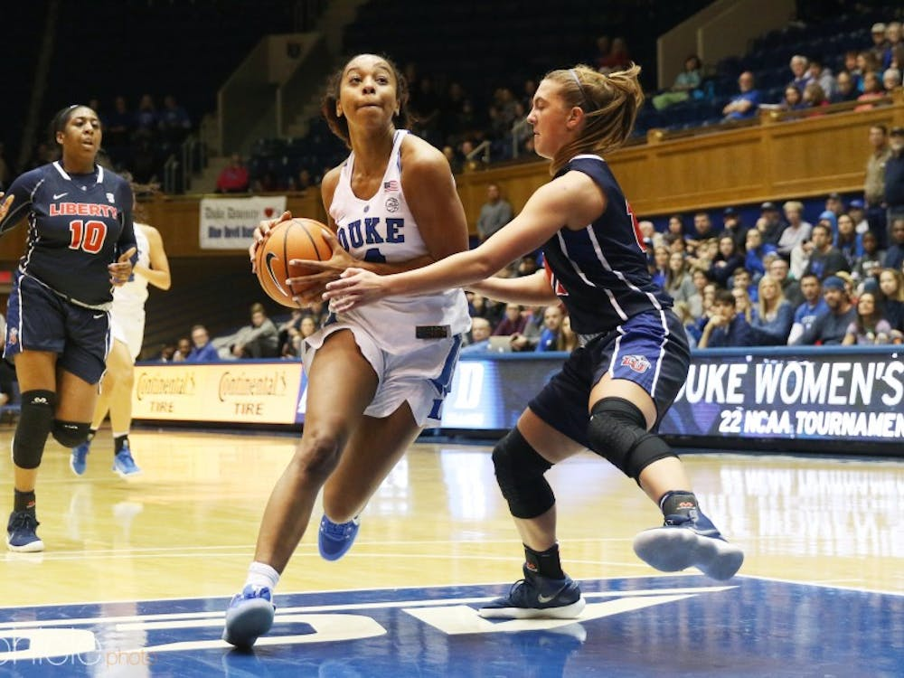 Lexie Brown has impressed fans and her fellow teammates with her rookie play this season including Duke alumnus Jasmine Thomas.