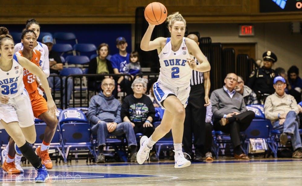 <p>Miela Goodchild is in striking distance of the freshmen 3-pointer record.</p>