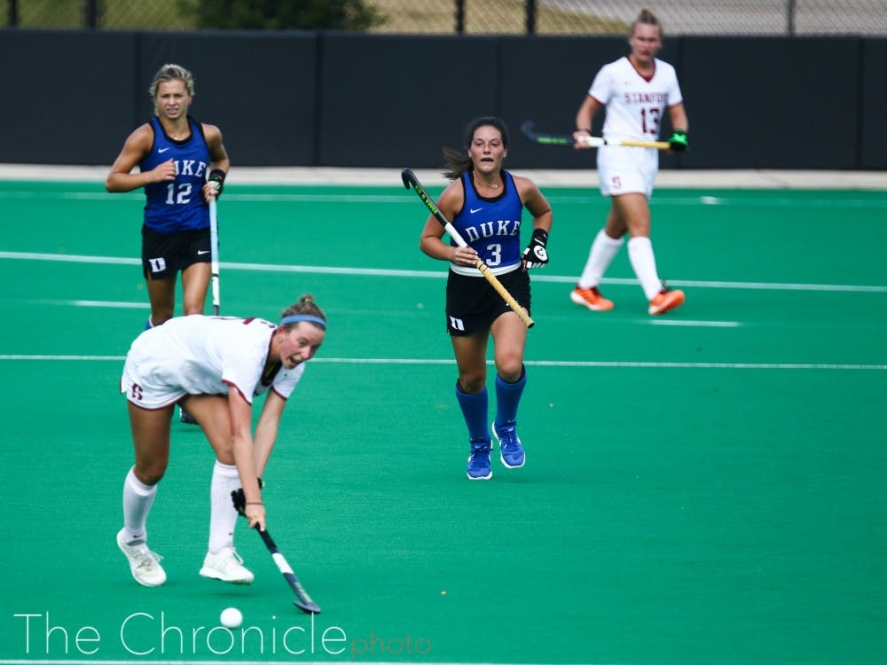 Hannah Miller helped spark Duke's offense.