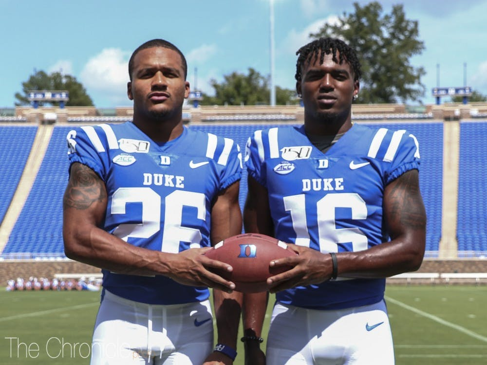 Michael Carter II and Dylan Singleton are this year's leaders of The Coalition.