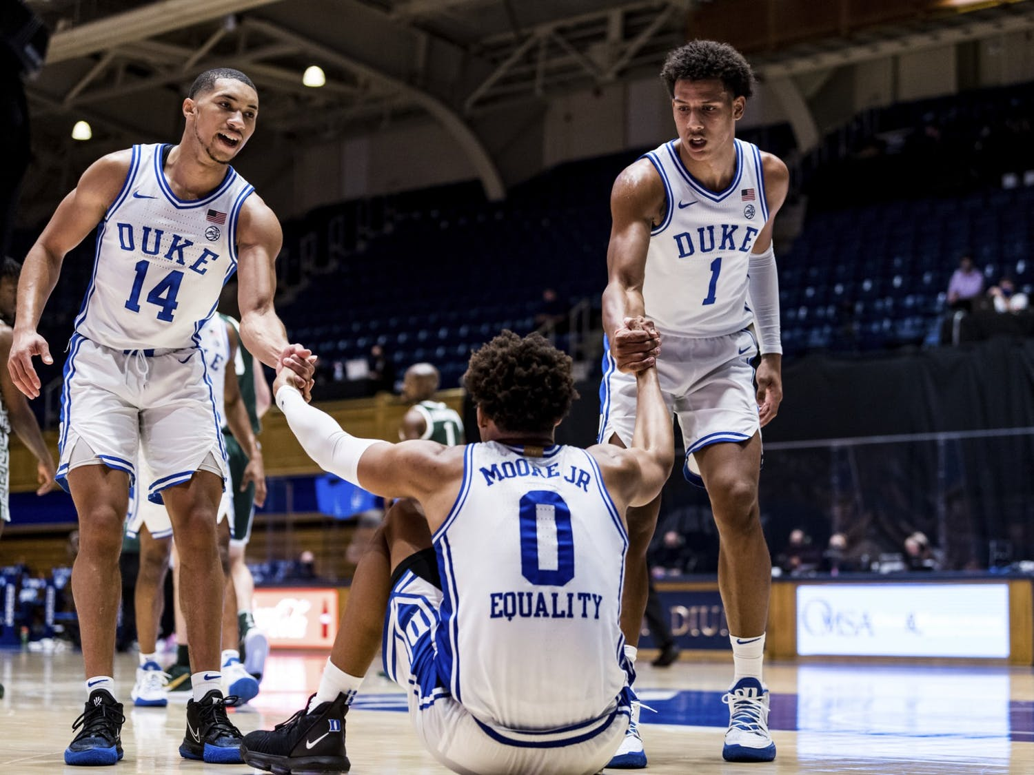 Duke needs a bounceback performance against Bellarmine this Friday and it all starts with the veterans taking charge.