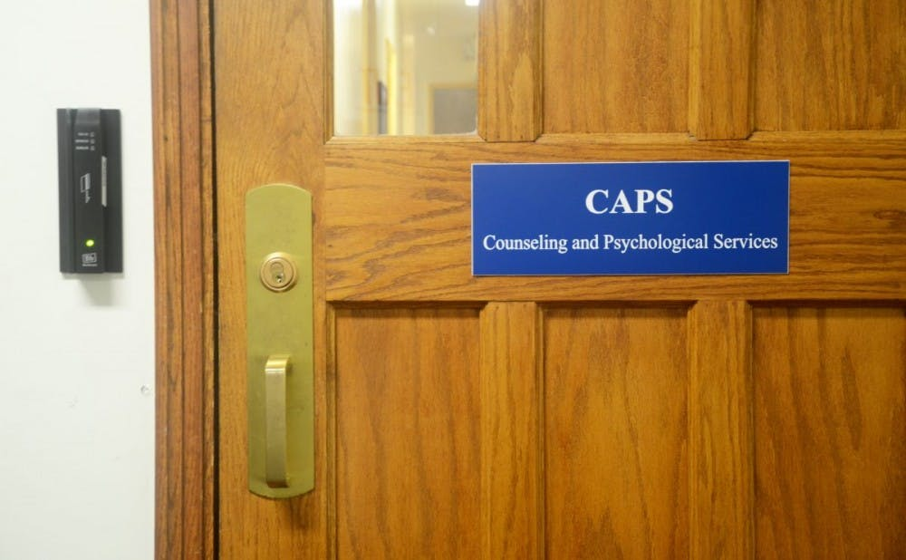 <p>Students raised concerns about the diversity of  CAPS staff at Friday's community forum.</p>