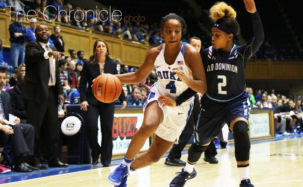 <p>Lexie Brown and the Blue Devils will look to shake off the rust Wednesday before another lengthy break and their toughest stretch of games this season.&nbsp;</p>