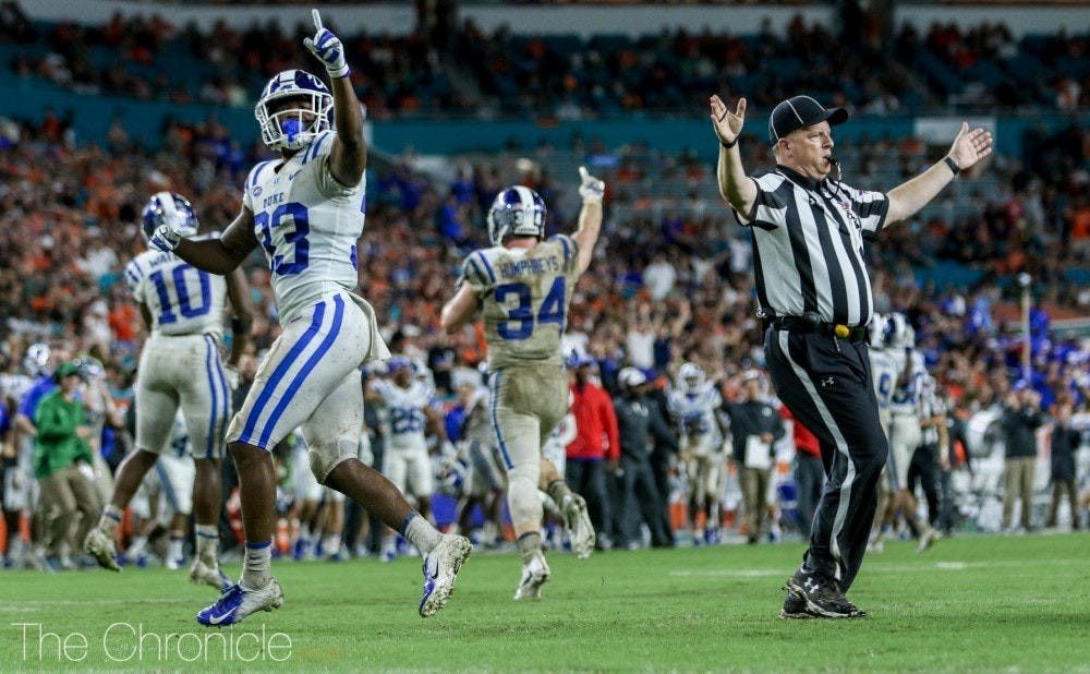 Duke is coming off a key road win at Miami last week.