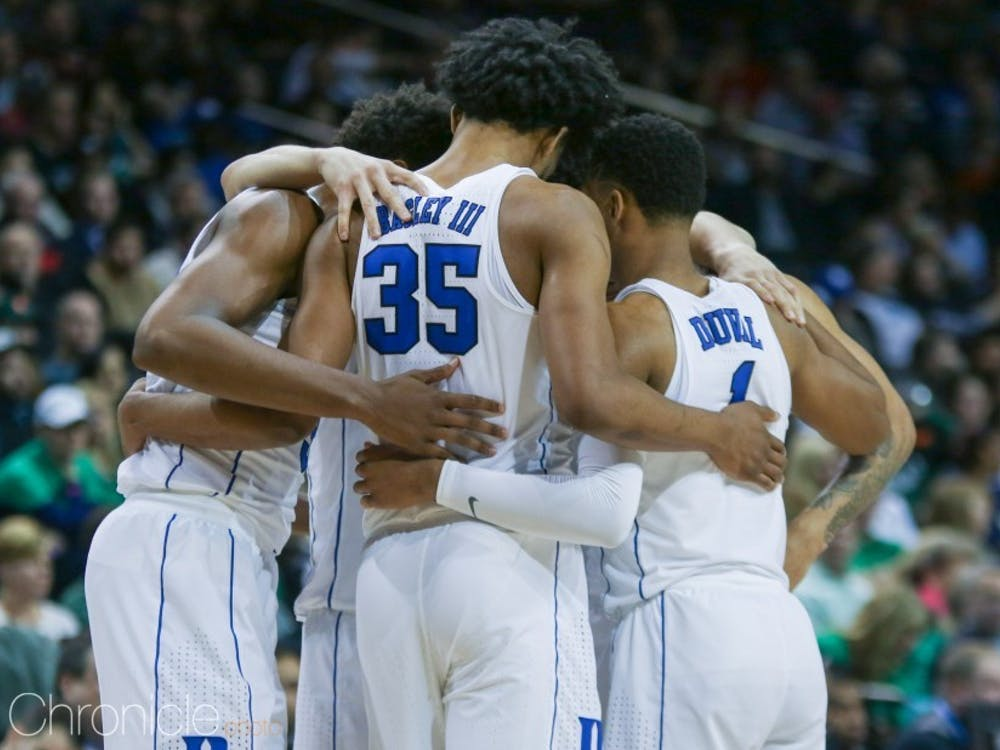 Duke's two trips to the Barclays Center for the ACC tournament could not have ended any differently.