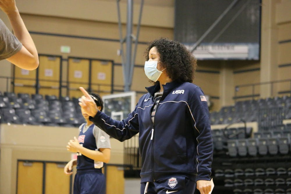 <p>Kara Lawson continues to bring in highly-rated transfers.</p>