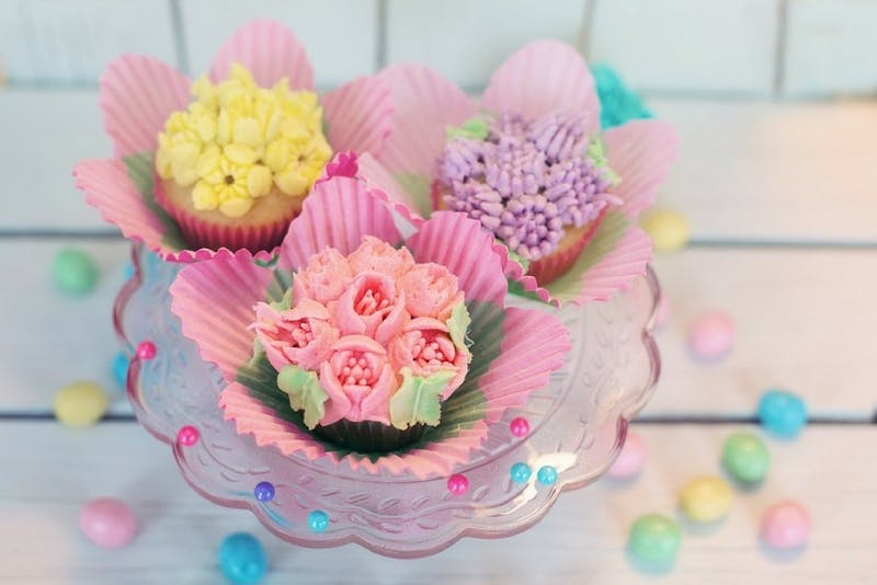 """Researchers tested a """"plain"""" version—like a standard frosted cupcake or unembellished toilet paper—against a """"pretty"""" version—like a cupcake with a frosted flower or toilet paper with an embossed design."""