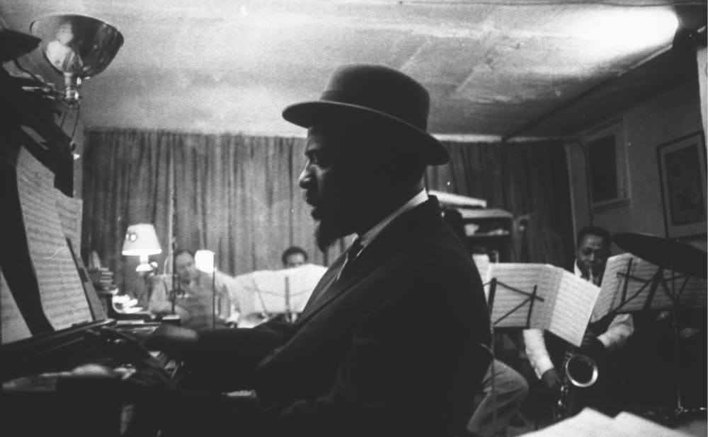 Monk at the Piano by Eugene W. Smith