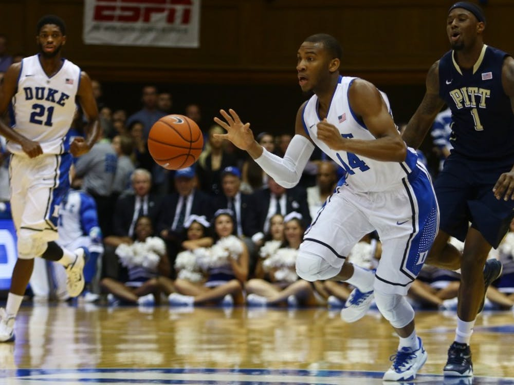 With Rasheed Sulaimon's departure, Duke is left with eight eligible scholarship players on the roster.