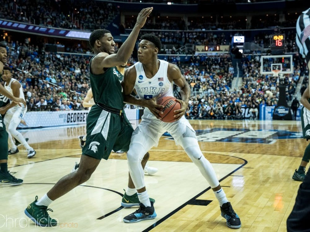 R.J. Barrett was able to get to the line in crunch time, but could not convert.