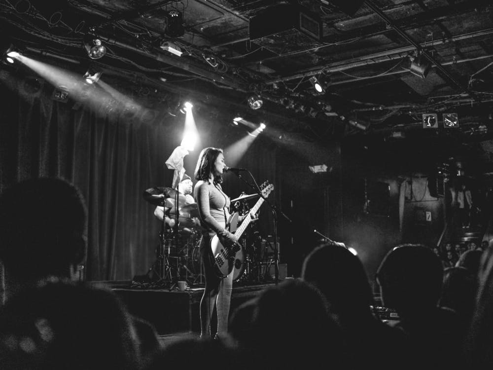 "Mitski, pictured playing at Paradise Rock Club in Boston, released her fifth album ""Be The Cowboy"" Aug. 17."