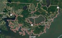 Hyde County, North Carolina | Courtesy of Google Maps