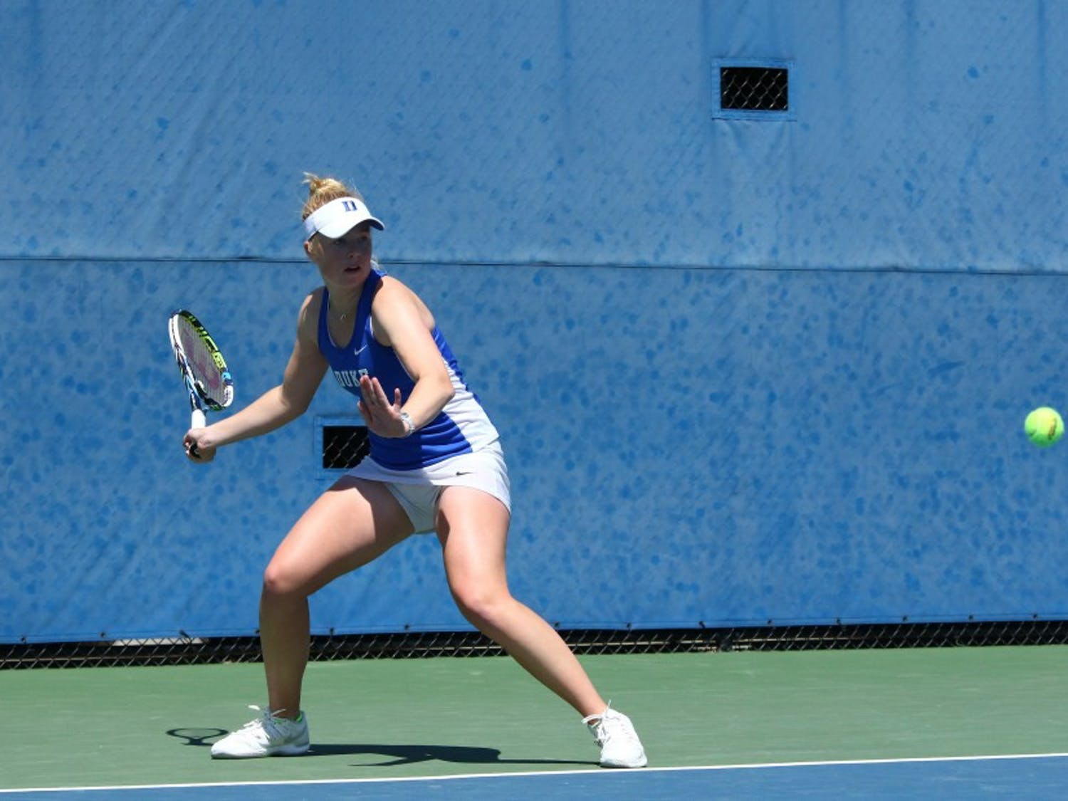 Kaitlyn McCarthy played three tiebreakers Wednesday but came out on top in two to end a five-match losing streak and keep her freshman season alive.