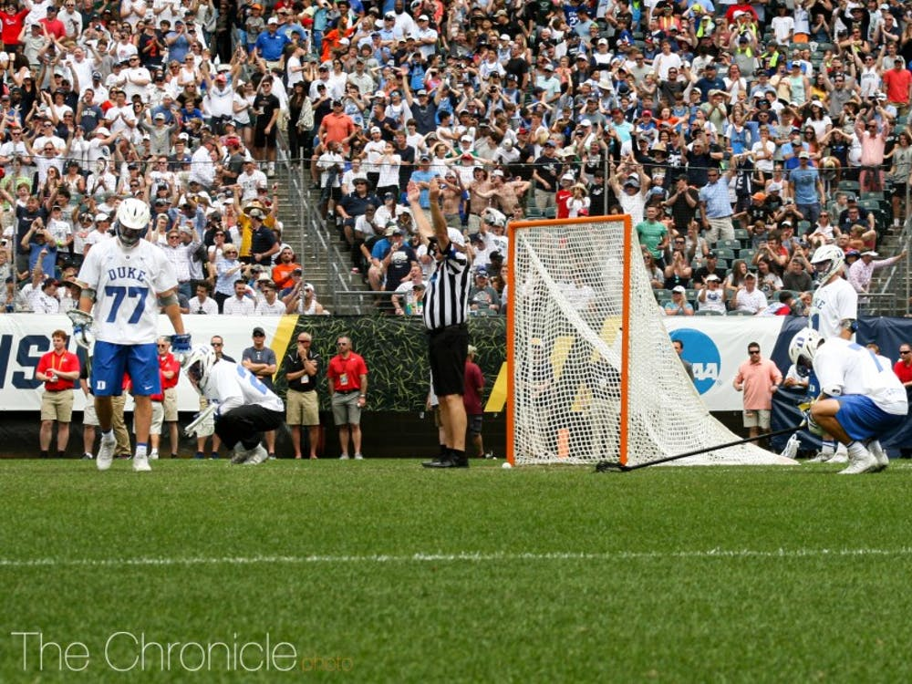 The Blue Devils' hearts were broken when a Virginia goal in the second overtime ended Duke's season.