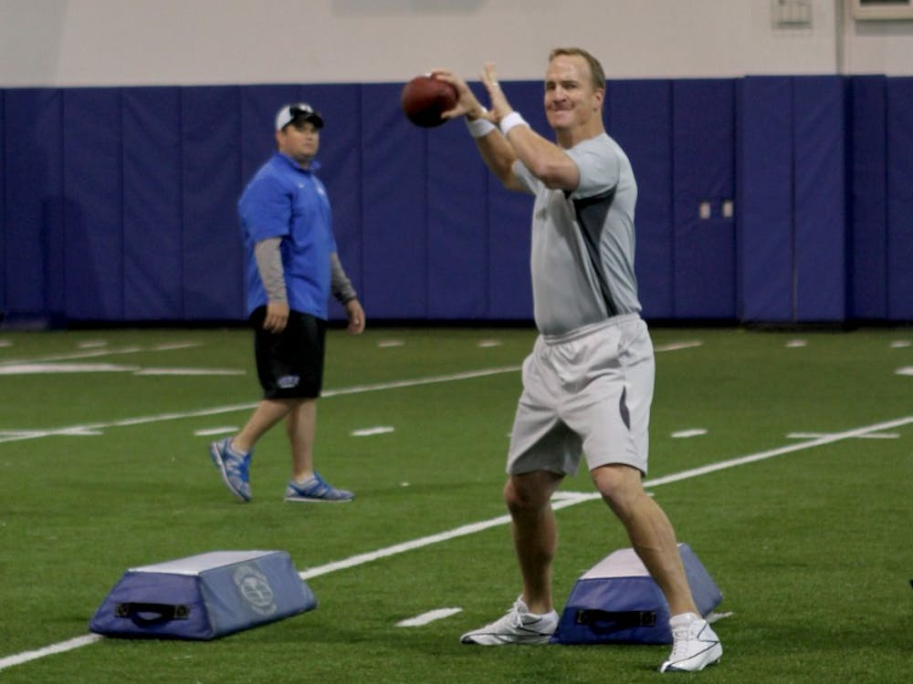 Peyton Manning won the Super Bowl earlier this month with the Denver Broncos, but has also been a target of allegations regarding sexual assault and performance-enhancing drugs.