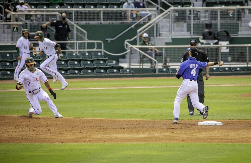 <p>The Blue Devil defense struggled down in South Florida, with seven errors across the three losses.&nbsp;</p>