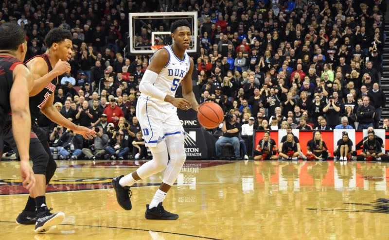 R.J. Barrett likely won't be a part of next year's Duke team, which will be the first to play a 20-game ACC schedule.