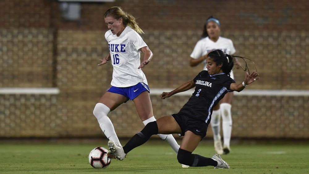 <p>Duke battled once again, but remain winless against North Carolina since 2015.</p>