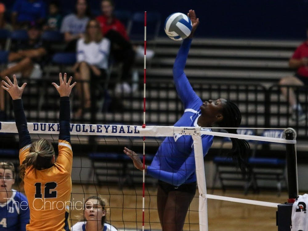Ade Owokoniran provided a key spark for Duke.