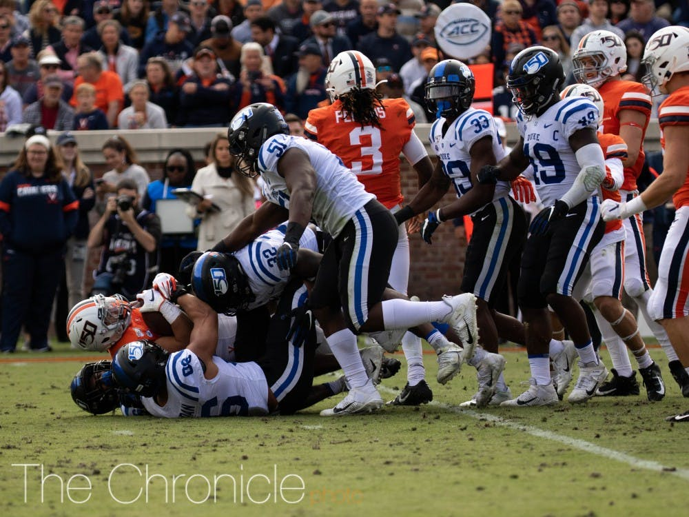 <p>Duke's defense will need to bounce back against the Tar Heels.</p>
