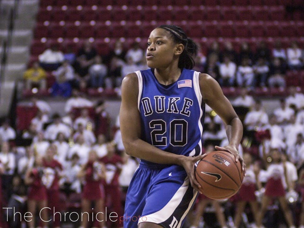 <p>Alana Beard had a legendary career with the Blue Devils from 2000 to 2004.</p>