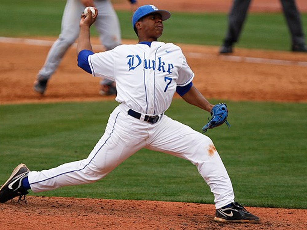 In his first career start, freshman Marcus Stroman struck out 10 en route to a 10-3 complete game win.