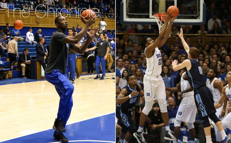 As freshmen Harry Giles and Marques Bolden work their way into the lineup, Duke's rotation could change dramatically.