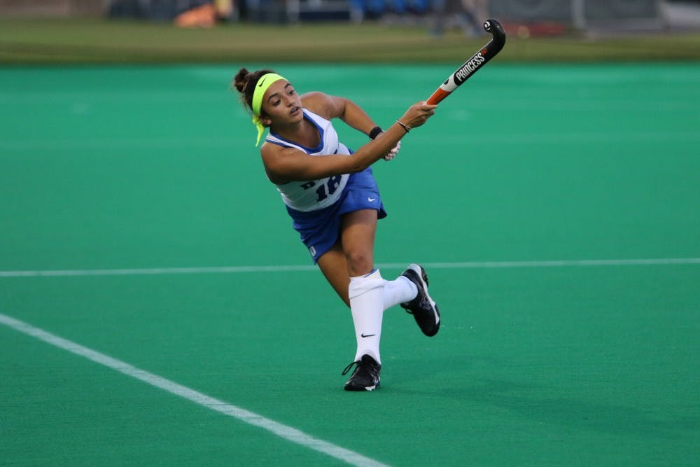 <p>The Blue Devil comeback bid fell short against the Tar Heels Friday, dropping their fourth consecutive game to North Carolina.</p>