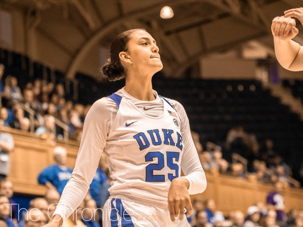 <p>Jade Williams' team-high 11 points were not enough to push Duke past Northwestern.</p>