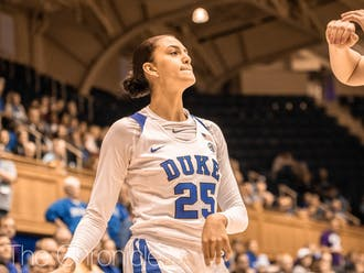 Jade Williams' team-high 11 points were not enough to push Duke past Northwestern.