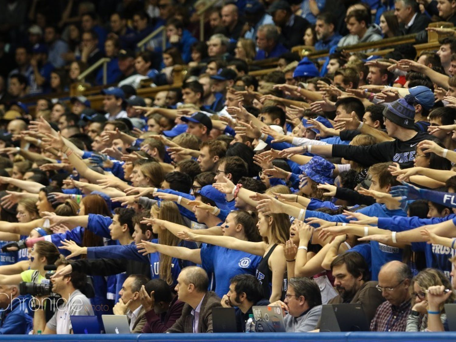 Game days at Cameron Indoor Stadium will look a lot different to begin the season.