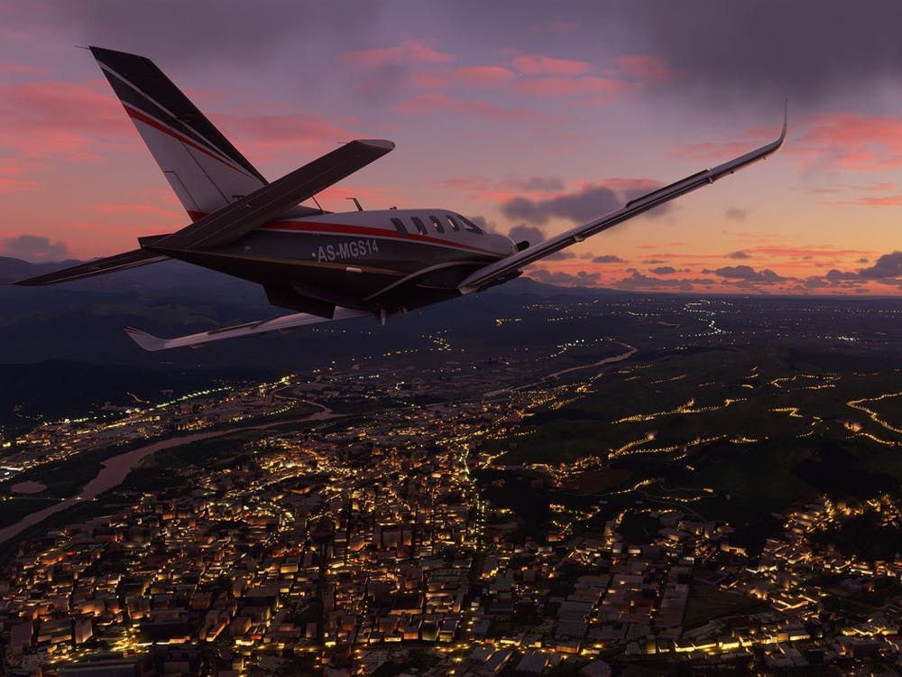 """""""Microsoft Flight Simulator"""" is the latest installment in a long-running series of games."""