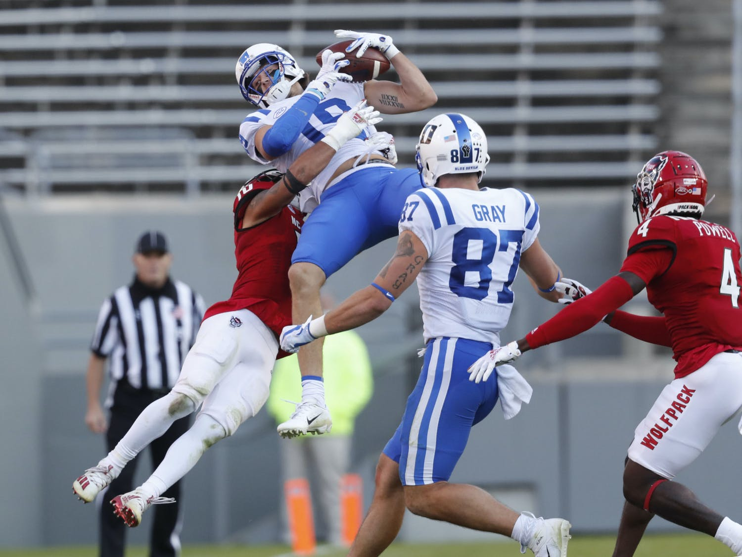 Senior Jake Bobo looks to bring leadership and playmaking to the Blue Devils' passing game.